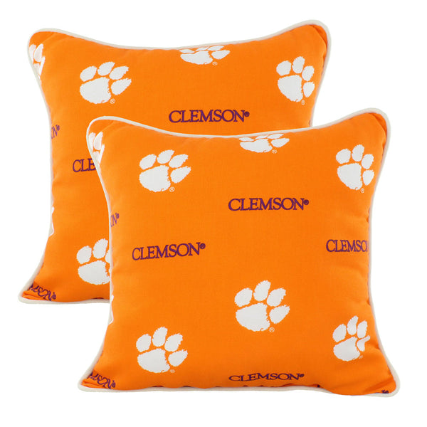 Clemson Tigers Patio Pillows