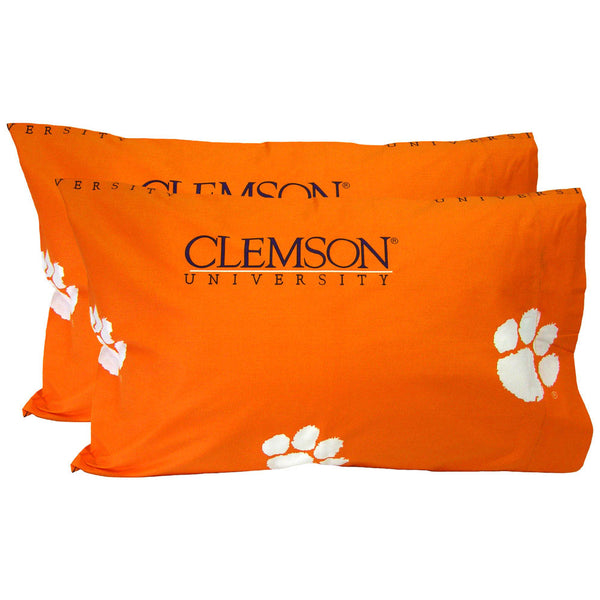 Clemson Tigers Spirit Pillowcase