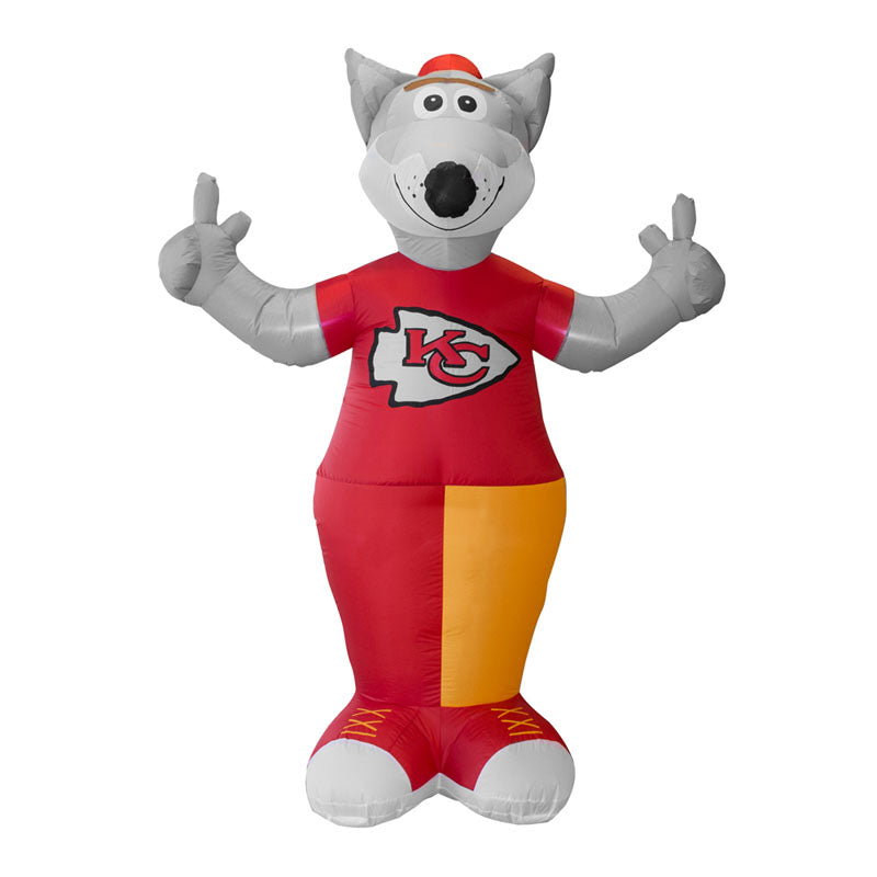 Kansas City Chiefs Airblown Inflatable K C Wolf The Team Mascot