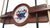DePaul Blue Demons 2 Piece Billiard Cue Rack - Team Sports Gift