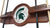 Michigan State Spartans 2 Piece Billiard Cue Rack - Team Sports Gift