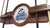 North Florida Ospreys 2 Piece Billiard Cue Rack Holding Cues
