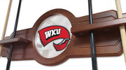 Western Kentucky Hilltoppers 2 Piece Billiard Cue Rack Holding Cues