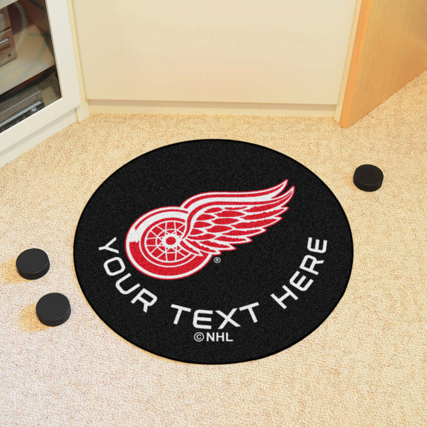 Hockey Puck Area Rug