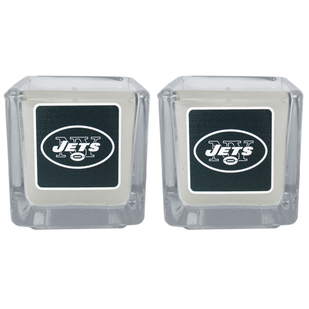 New York Jets Scented Candles, Set of 2 Votives