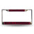 Colored Chrome Alabama A&M Bulldogs Maroon Vanity License Frame - Team Sports Gift