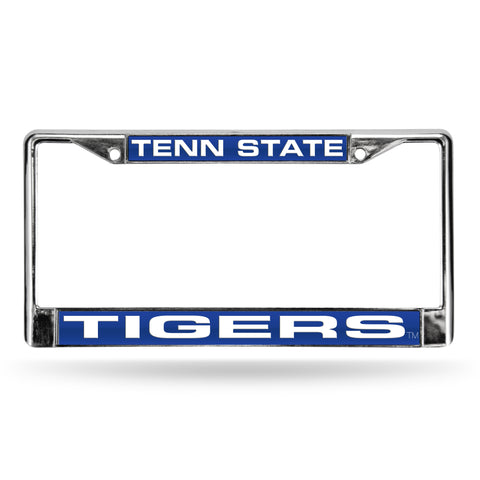 Colored Chrome Tennessee State Tigers Vanity License Frame