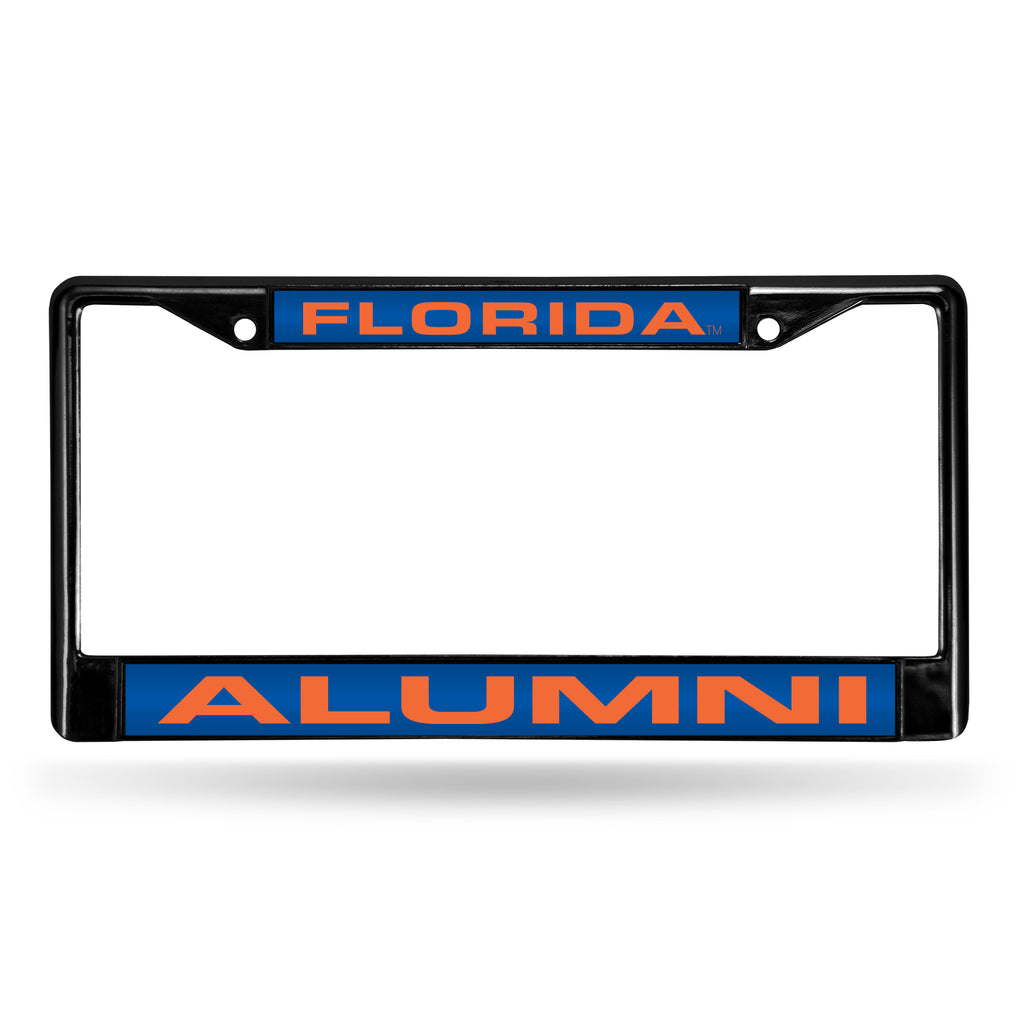 Florida Gators Alumni Black Chrome License Plate Frame