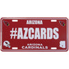 #AZCARDS Hashtag License Plate - Team Sports Gift