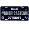 #AMERICASTEAM Hashtag License Plate - Team Sports Gift