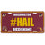 Washington Redskins #HAIL Hashtag License Plate