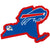 Buffalo Bills Home State Peel and Stick Decal - Team Sports Gift
