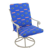 Florida Gators 2 Piece Chair Cushion