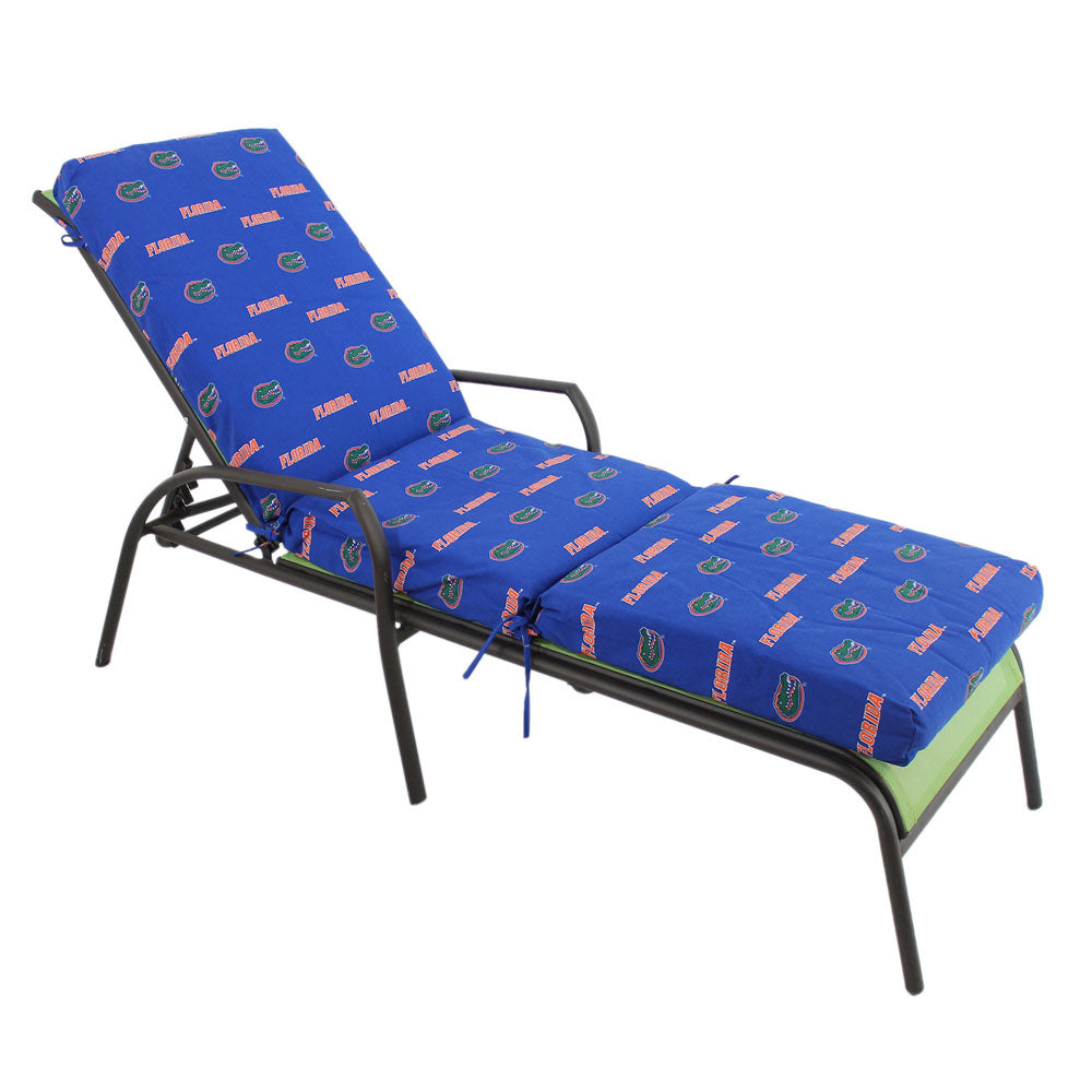 Florida Gators 3 Section Chaise Lounge Seat Cushion