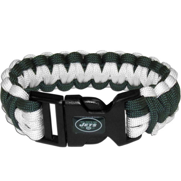New York Jets Team Colors Survivor Bracelet