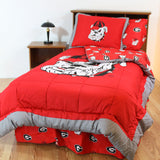 Georgia Bulldogs Bed in a Bag w/ Colored Logo Sheets