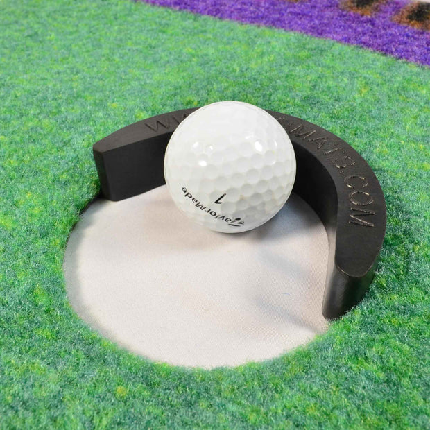Golf Hole on Mat