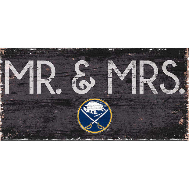 Buffalo Sabres Mr. and Mrs. Plaque