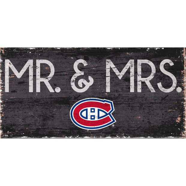 Montreal Canadiens Mr. and Mrs. Plaque