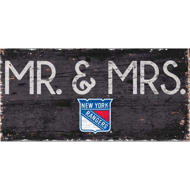 New York Rangers Mr. and Mrs. Plaque
