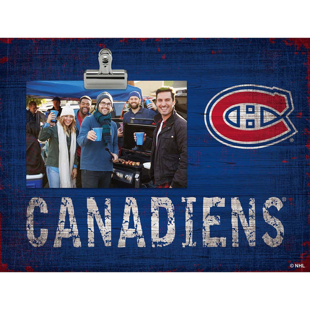 Montreal Canadiens Clip Picture Frame
