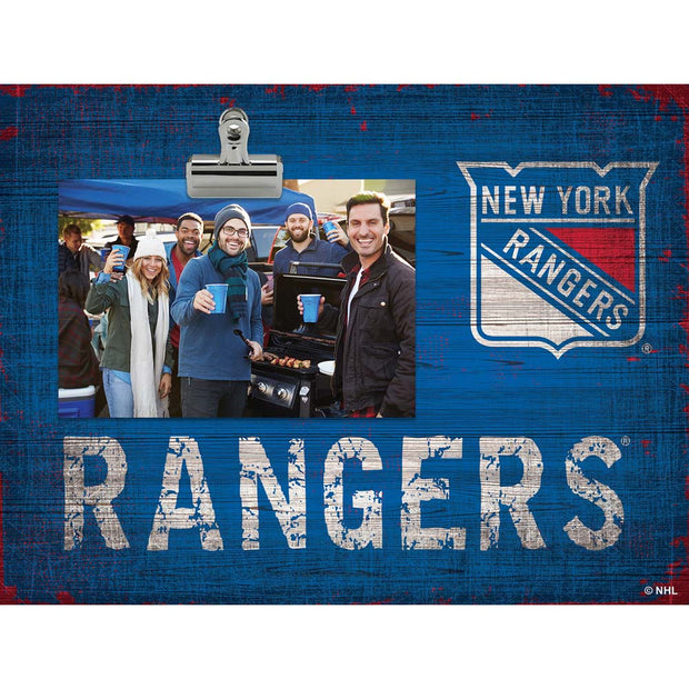 New York Rangers Clip Picture Frame