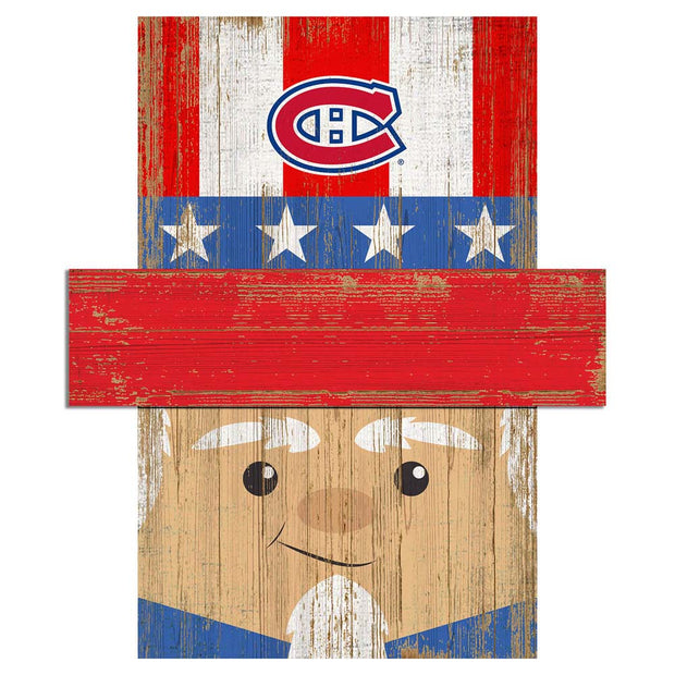 Uncle Sam Loves The Montreal Canadiens Wall Art