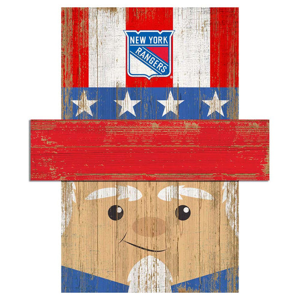 Uncle Sam Loves The New York Rangers Wall Art