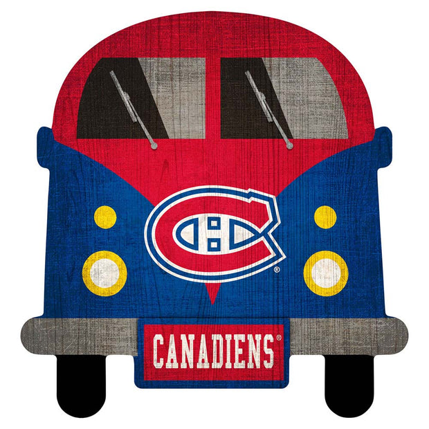 Montreal Canadiens Game Day Bus Wall Decor
