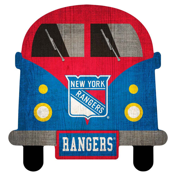 New York Rangers Game Day Bus Wall Decor