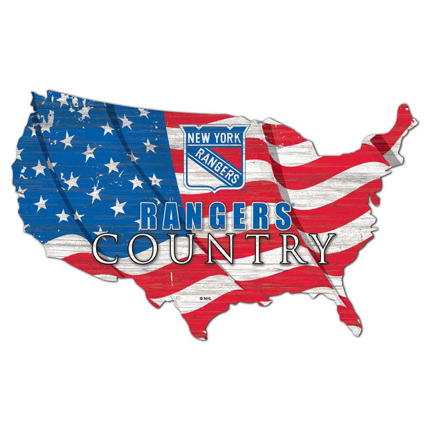 Rangers Country Flag Wall Art