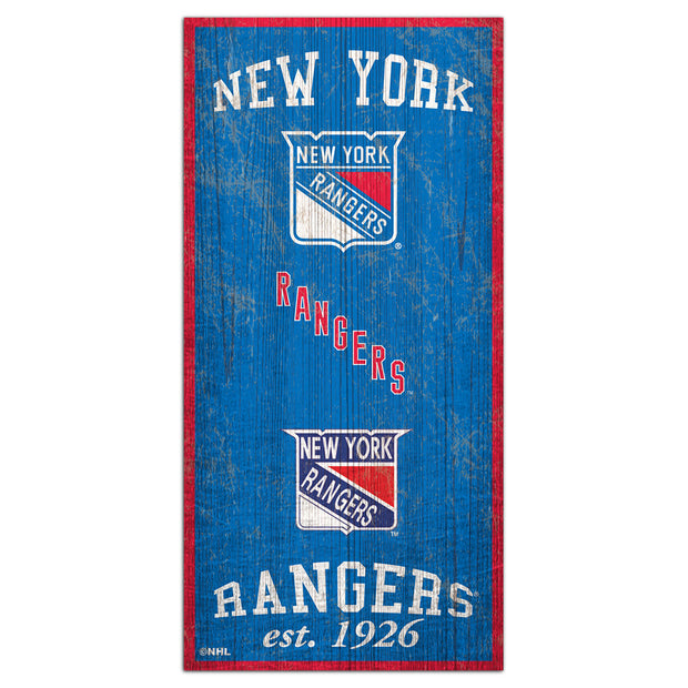 New York Rangers Heritage Plaque