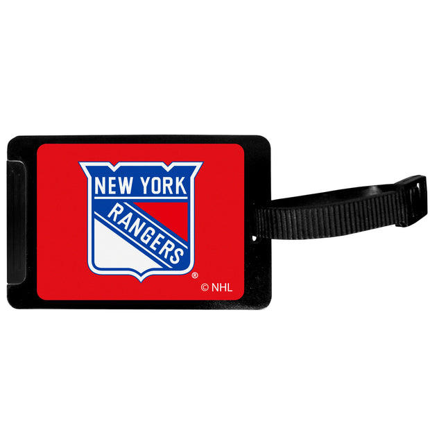 Set of 4 New York Rangers Luggage Tags