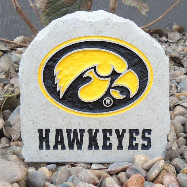 Iowa Hawkeyes Engraved Stone Paperweight