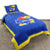 Kansas Jayhawks Team Spirit Reversible Bedding Set - Team Sports Gift
