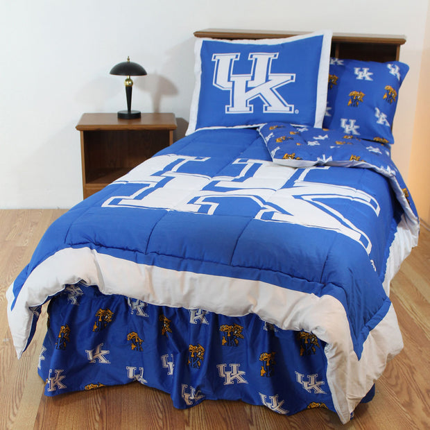 Kentucky Wildcats Bed in a Bag w/ Colored Logo Sheets