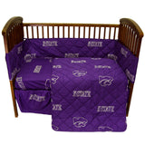 Kansas State Wildcats 5pc. Baby Crib Bedding Set