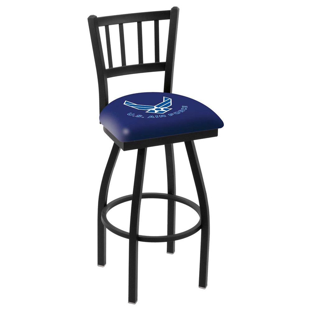 Air Force Falcons Jailhouse Swivel Bar Stool