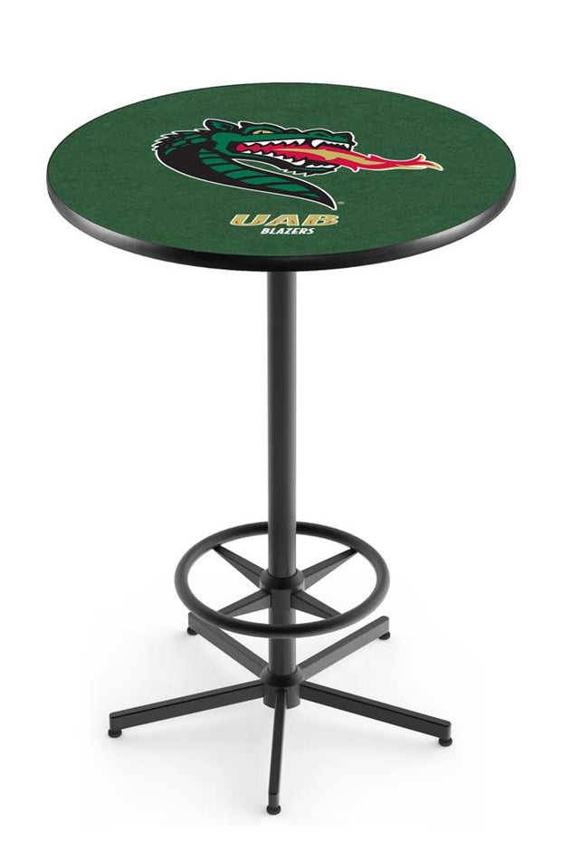 UAB Blazers Bar Table w/ Foot Rest