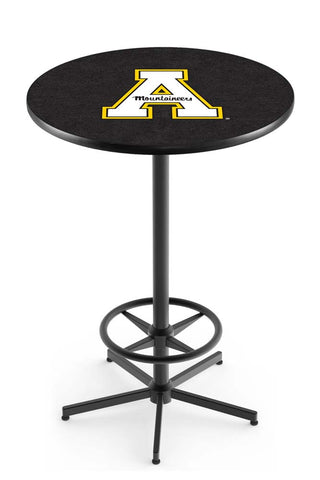 Appalachian State Mountaineers Bar Table w/ Foot Rest