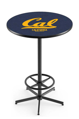 Cal Golden Bears Bar Table w/ Foot Rest