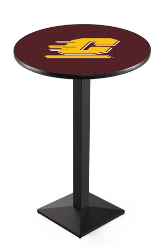 Modern Central Michigan Chippewas Game Room Table