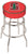 Stanford Cardinals Double Ring Chrome Swivel Bar Stool - Team Sports Gift