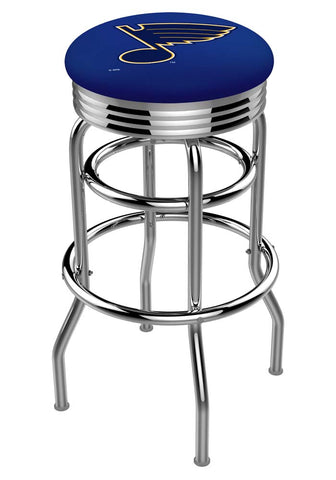 St. Louis Blues Retro Swivel Bar Stool