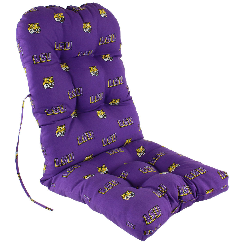 LSU Tigers Seat Cushion for Adirondack Chair