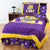 LSU Tigers Bed in a Bag w/ Colored Logo Sheets - Team Sports Gift