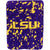 LSU Tigers Hi Pile Raschel Knit Blanket - Team Sports Gift