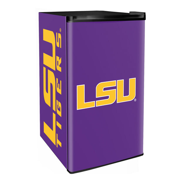 LSU Fighting Tigers 3.2 Cubic Feet Mini-Fridge
