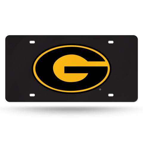 Grambling State Tigers Hand Assembled Laser Cut Tag Black