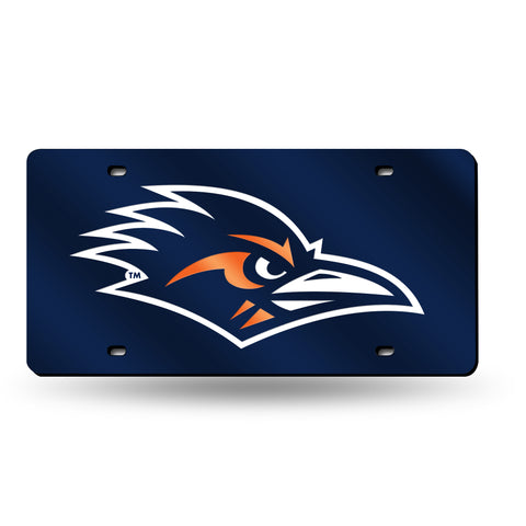 UTSA Roadrunners Hand Assembled Laser Cut Tag Navy